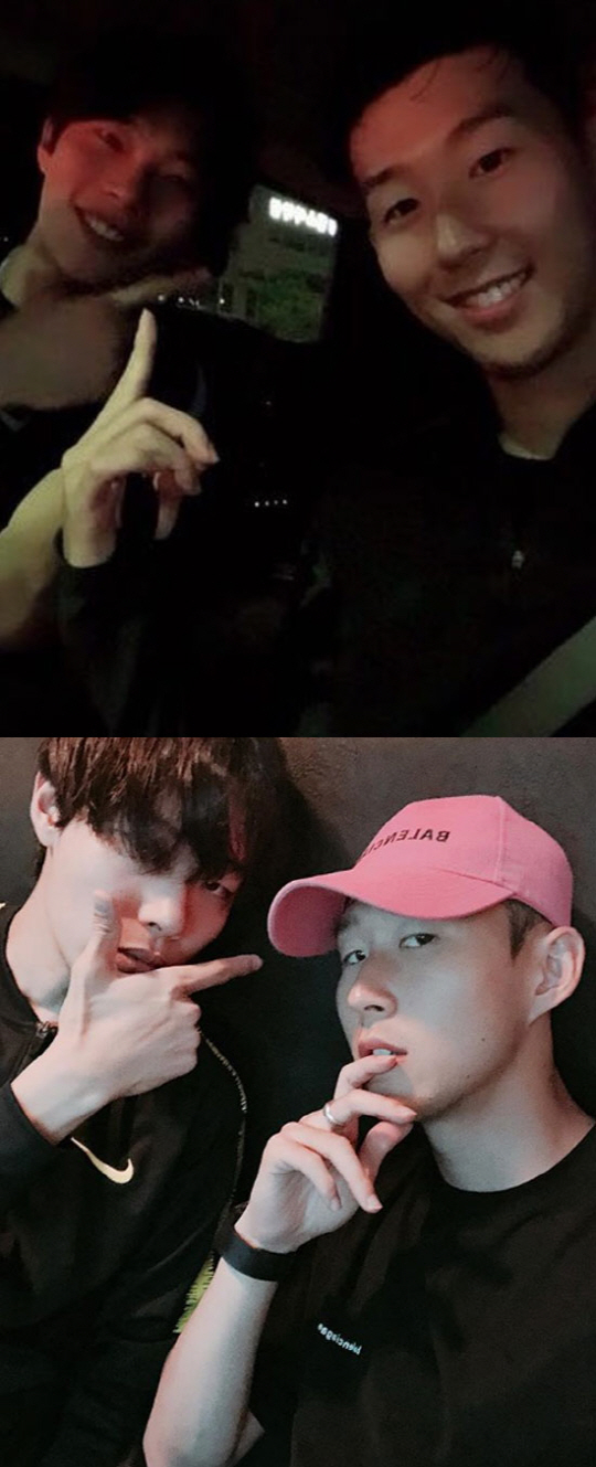 <p>5th Ryu Jun-yeol and Son Heung-min posted pictures with the sentence Yes it is using their respective instruments.</p><p>Two figures of close friends were put in the released pictures. Friendly Certification of two well-attractive and attractive guys gets a lot of looks.</p><p>Son Heung - min who first came to Korea after finishing the Russian World Cup in 2018 has sometimes gotten a hot topic that it was Ryu Jun - yeol who was the first person I met. The medium that caught the figure that two people eat rice at the Nonhyun-dong Korean restaurant.</p><p>Meanwhile, Ryu Jun-yeol of Soccer Oota who became a rumor in the entertainment industry is always a fan of Son Heung-min who is keen on enthusiasm and the two who opened their hearts to aggressive Pensim became close friends. Ryu Jun-yeol went to find Son Heung-mins game directly, showed warm support to support each others activities through SNS.</p>