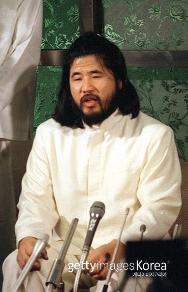 옴 진리교의 아사하라 쇼코 전 교주. 게티이미지코리아