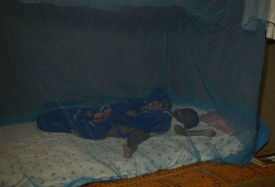 아프리카에 모기장이 보급되면서 말라리아에 걸리는 아동의 숫자는 줄었지만 여전히 아프리카는 말라리아로 고통받고 있습니다.[사진=유튜브 화면캡처]