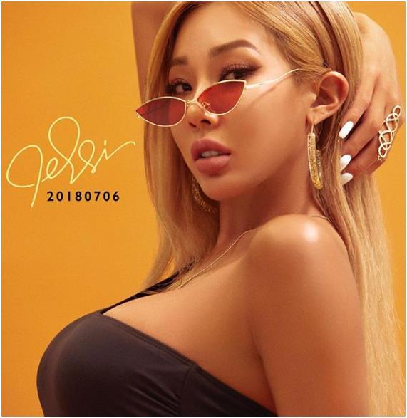 제시가 신곡 뮤직비디오를 언급했다. 제시 인스타그램