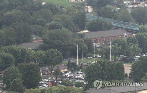 용산 미군 기지 [연합뉴스 자료사진]