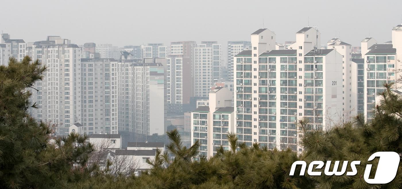 서울 강북 지역의 아파트 모습.(뉴스1 자료사진)© News1 이승배 기자