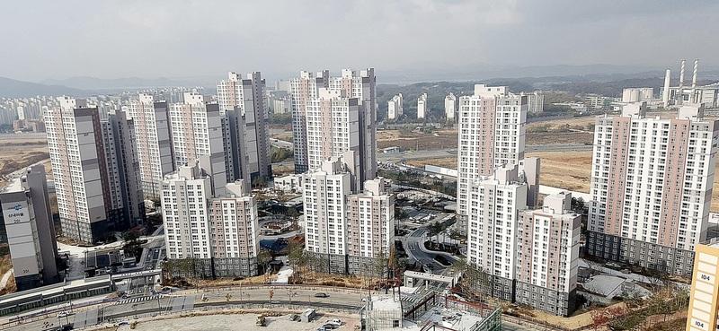 경기 파주 운정신도시 아파트 단지. 한국토지주택공사 제공