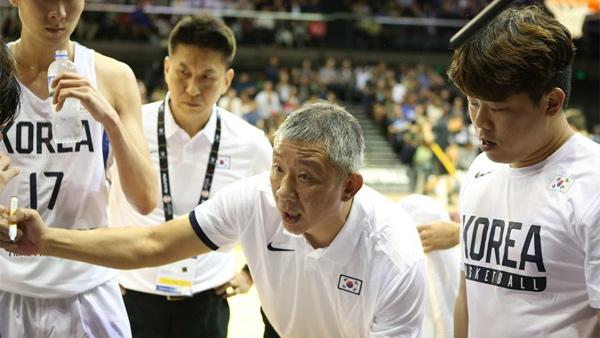 농구대표팀, 존스컵 필리핀 대학팀에 17점 차 승리..2연승