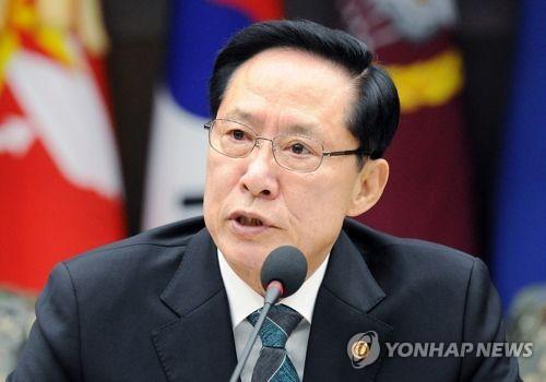 송영무 국방부 장관 [연합뉴스 자료사진]