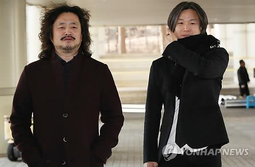 김어준씨(왼쪽)와 주진우 기자 [연합뉴스 자료사진]