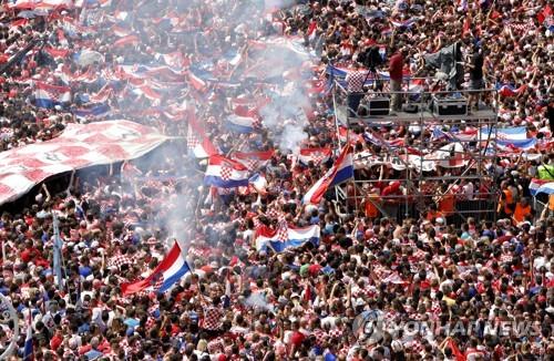 CROATIA SOCCER FIFA WORLD CUP 2018