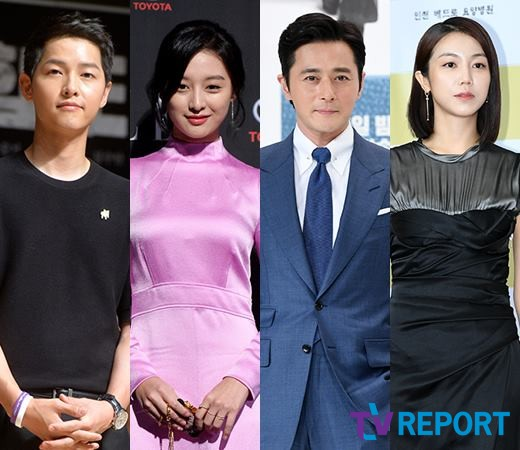 <p>Actors Song Joong-ki, Kim Ji-won, Jang Dong-gun, Kim Ok-bin are considering appearance on the tvN drama As month chronicle.</p><p>On September 19, officials of the Associated Chronicle said, Song Joong-ki, Kim Ji-won, Jang Dong-gun, Kim Ok-bin are definitely considering appearances, but they have not confirmed Its a director, I will meet only writers today, he said.</p><p>Asun Chronicle is a fantasy drama depicting Korea s first ancient human history. Draw a story of heroes, anti-heroes who make country in virtual land.</p><p>Asun Chronicle was written by Kim Young-hyun, Park Sang-yong writer, co-author of flashy casting and deep rooted tree, Yukryon Narsha, microorganisms, signal, my Uncle Director Kim Won-seok gathers expectations for directing.</p><p>First, during the play Song Joong-ki and serve as Han Tai Unsom. It is an undressing mixture of people and brains, has special looks and extraordinary abilities. Become a conqueror of the Associated Ass wishing to be an empire later in a city state.</p><p>Kim Ji-won took over the role of Tanya, a successor to the Han family clan. It is a first love of Song Joong-ki and a woman who loves the field of view (Jang Dong-gun). Imperial Ass Prince, the first crown prince of the month, becoming the first empires first great female politician.</p><p>Jang Dong-gun Jang Dong-gun plays the new Nyuk Jok Tagon. The shortage of the Ass month It is the son of Yonmenjang, a hero who led the victory of the undressing 20 years big war inside the person and the brain. It will become the first king of Ass Monde at a later date.</p><p>Kim Ok-bin serves as a survivors state al-ha during the war between the human and brain undressing 20 years. It is a person who is called the strongest creature on the earth and is proud of the ability of genius swordsmanship.</p><p>Ass Chonicle is a pre-production drama, which is scheduled to be broadcast in the first half of next year.</p>