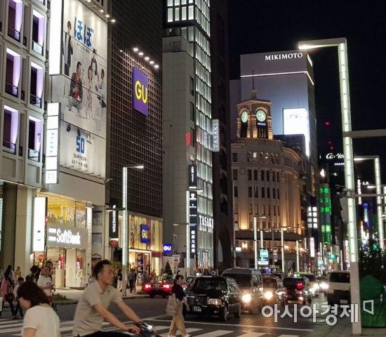 [르포]국내 상륙하는 지유, 日긴자 매장 가보니..韓업계는 긴장