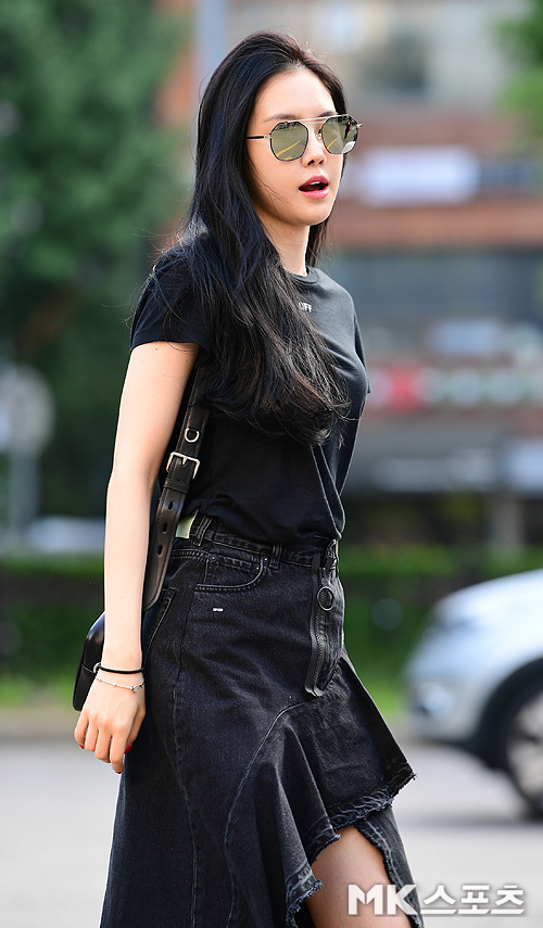 손나은 '시크한 블랙' [MK포토]