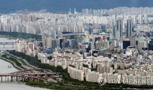서울 강남 일대 아파트 전경 [연합뉴스 자료사진]