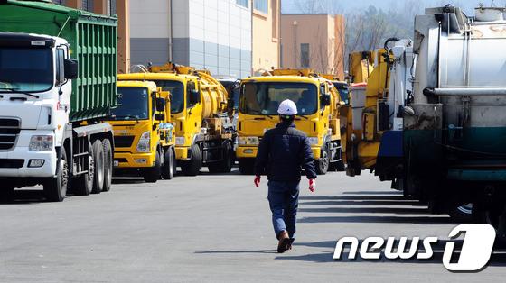 음식물 쓰레기가 모이는 전북 전주시 종합리사이클타운/뉴스1 DB © News1 문요한 기자