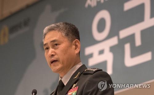 도전 과제를 안게 된 김용우 육군총장 [연합뉴스 자료사진]