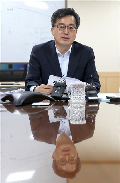 김동연 경제부총리 겸 기획재정부 장관.뉴스1
