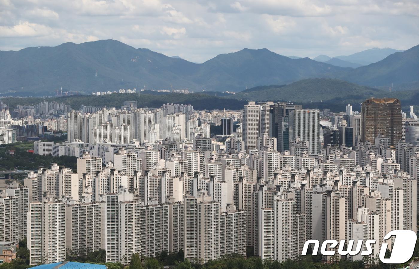 서울 송파구 아파트 단지 모습 /뉴스1 © News1 허경 기자