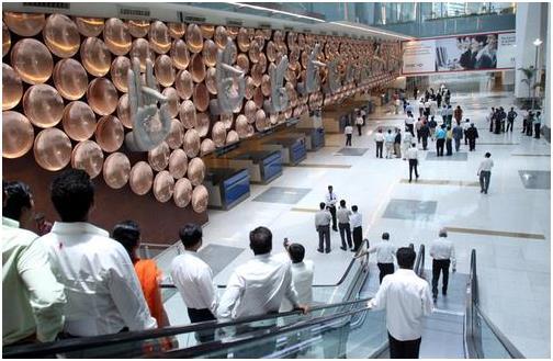 인도 뉴델리의 인디라 간디 국제공항. 연합뉴스