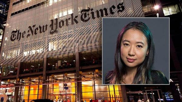 지난 1일(현지시간) <뉴욕타임스> 통신기술분야 수석기자로 합류한 사라 정. / 폭스뉴스