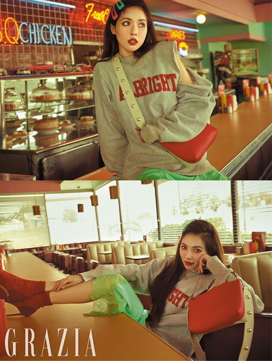 <p>Replacement disapproval of singer Hyuna was once again proved.</p><p>Fashion magazine Maria Grazia Cucinotta has released the gravure of Hyuna. Recently she finished unit activities and she left for Los Angeles in the United States, but she gave out a more intense atmosphere as the word Hyuna! Comes naturally.</p><p>One of the LAs on this Unfamiliar road showed the appearance of Hyuna itself which was chic but sexy at one side.</p><p>Hyuna s gravure full version which B - cut published to the publisher gathered the topic and bought a lot of expectations can meet at the Maria Grazia Cucinotta September issue published on August 20</p>