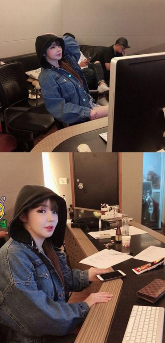 사진=박봄 인스타그램 캡처