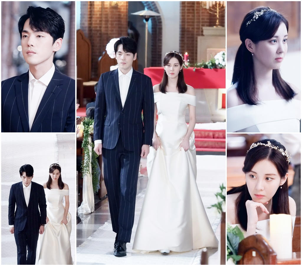 <p>MBC Mizuki TV drama broadcasted on the 30 th of last month time 19, 20 times Seo Heyun (Ji Hyon) who heard all the truth from Gimjung Han (Minseok) changed 180 degrees before Kim Jung-hyun (guardian) A situation that emerged clearly the ambition wanted to live in the world where the heart of people is also living with money. In addition, Kim Jung-hyun who broke out from Hwang Seung-eon (chair) should have been flipped ending to propose We are married.</p><p>Meanwhile, scenes where Kim Jung-hyun and Seohyun raised Wedding ceremony were caught. Kim Jung - hyun wearing a sprite suit and Seahyun wearing a white white wedding dress Situation raising a rustic Wedding ceremony at this cathedral. The two of us have a praying dedication to praying in front of a single phase, and with a guest applauded in a resonating wedding march, we will do March. However, the happiest day in the world, when they move one step without one fingertip magazine, they have a dark expression from the beginning.</p><p>Why did Kim Jung - hyun living life with a school cellular disease as a time limit accepted the burst proposal of blackened Seohyun, how do the two Wedding ceremonies come to be done become.</p><p>The production team is doing a lot of efforts in the field to express Kim Jung-hyun and Seohyun, the guardian and the jiyon that the change of the actors of two actors came, especially Kim Jung-hyun gives it to myself I expressed 100% of the guardian heart that wishes to write down the remaining time that was spoiled for hi, the site was made cunning. </p><p>Time 21, 22 times are broadcasted at 10 pm today (5th).</p>