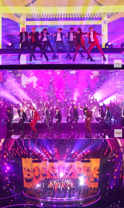 <p>Dark & amp; Wild appeared on NBCs popular audition program Americas Got Talent broadcasted at 8 pm on the 12th (local time) and decorated the opening celebration.</p><p>On this day Dark & amp; Wild showcased the stage of the new album title song IDOL live and pulled up the explosive reaction of the audience seats. With the overwhelming energy full of energy specific to Dark & amp; Wild and the hot cheers of many fans singing IDOL songs, attracted the attention of viewers worldwide.</p><p>Tyra Banks, who hosted the program, said Immediately after the stage of Dark & amp; Wild, together the stage of the worlds best boy band hit IDOL Dark & amp; Wild is currently LOVE YOURSELF Im on tour. </p><p>Prior to that, 2018 American Music Awards side said that Dark & amp; Wild came up as a candidate for the FAVORITE SOCIAL ARTIST department via the official YouTube Live streaming.</p><p>Dark & amp; Wild is nominated for the first time this year by the American Music Award, and is unique in Korean singers.</p><p>Candidates such as Dark & amp; Wild, Cardi B, Ariana Grande, Demi Lovato, Shawn Mendes, etc. were included in candidates for Favorite Social Artist category .</p><p>In November last year Dark & amp; Wild also accepted an official invitation to 2017 American Music Award to expand the stage of DNA.</p>