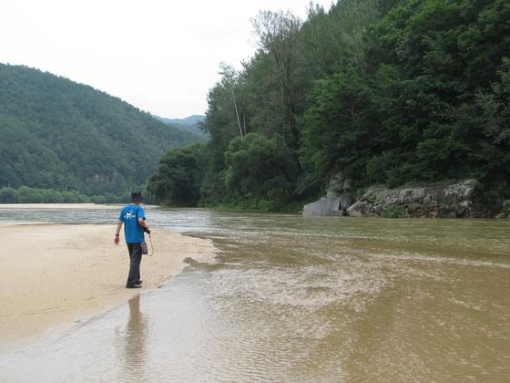 영주댐이 건설되기 전인 2011년 내성천의 모습. 강찬수 기자
