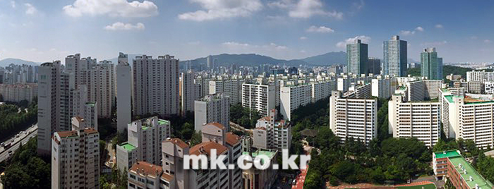서울 강남 일대 주거지역 전경 [사진 이미연 기자]