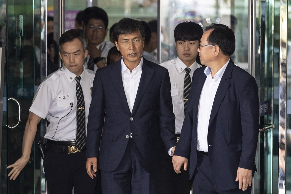 """""""노동자였던, 안희정 성폭력 피해 생존자 김지은입니다"""""""