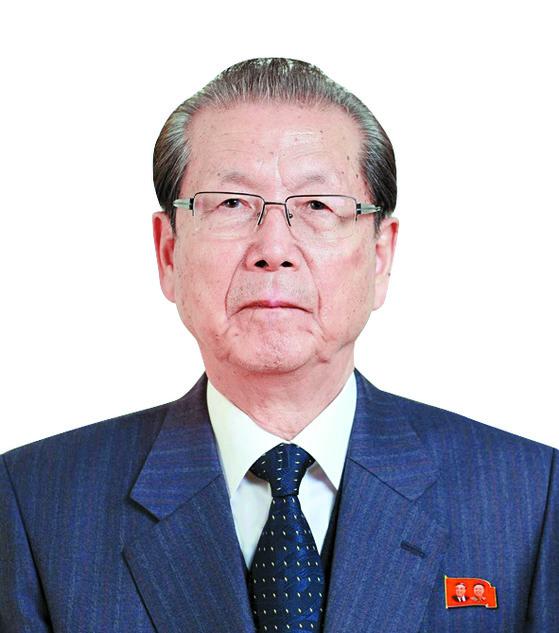 최태복 최고인민회의 의장. [중앙포토]