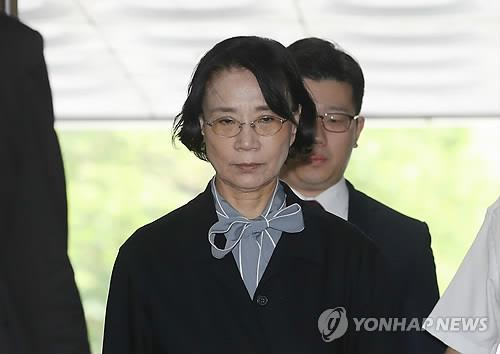 조양호 한진그룹 회장의 아내 이명희씨 [연합뉴스 자료사진]