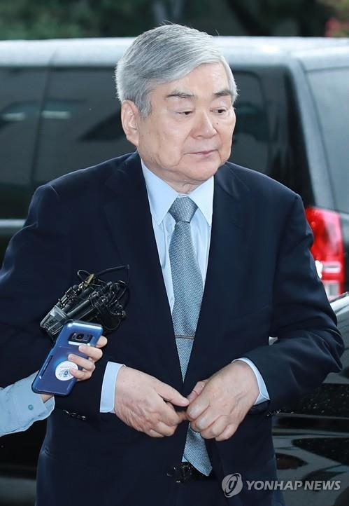 조양호 한진그룹 회장 [연합뉴스 자료사진]
