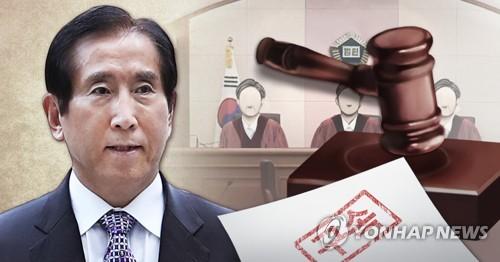 조현오 전 경찰청장 구속 (PG) [최자윤 제작] 사진합성·일러스트