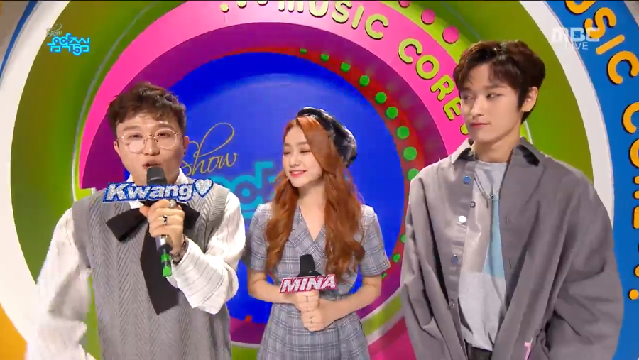 <p>Park Sung-Kwang was in charge of Music-centric Special MC.</p><p>MBC Show Music Center (Music Center) broadcasted on October 6th The first place in October, the first place in October, the first place candidate in October is Roy Kim Lets Stop, Dark & amp; Wild IDOL, Lim Chang-jung I never loved you everyday rose.</p><p>On this day, Park Sung-Kwang and The Boyz played NC MC with Markus Minna on behalf of NCT Mark.</p><p>Park Sung-Kwang said, Im nervous because Im nervous, but I will work hard.</p><p>The Boyz star also said, Im too shaken, but I will do my best with the honor of The Boyz.</p><p>On the other hand, music center includes glass, icon, owning, GOT7, Pentagon, Ohmy Girl, The Boyz. Space Girl, Dream Catcher, BLANC7, Unity, Park Girl, The Rose, Lip Bubble</p>