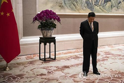 미국과의 무역 전면전에 들어간 중국의 시진핑 국가주석 [AP=연합뉴스 자료사진]  (끝)