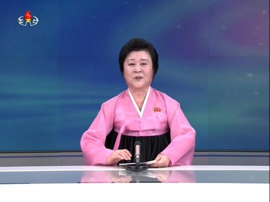 북한 조선중앙TV 대표 아나운서 리춘히 (사진=연합뉴스)