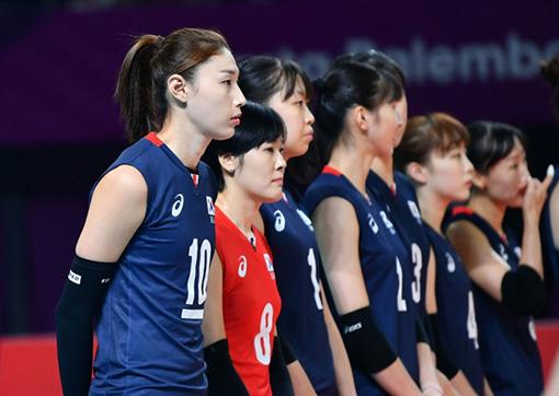 한국 여자 배구팀. 사진제공|아시아배구연맹