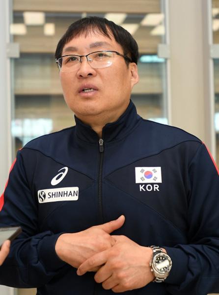 한국 여자 배구대표팀 차해원 감독. 사진제공|대한배구협회