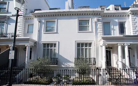 UWO를 최초로 적용받은 자미라 하지예바 부부가 소요한 런던의 부촌인 나이츠브리지에 있는 1500파운드(약 226억원) 상당의 저택. 자금원을 소명하지 못하면 하지예바는 이 저택을 몰수당하게 된다. /텔레그래프