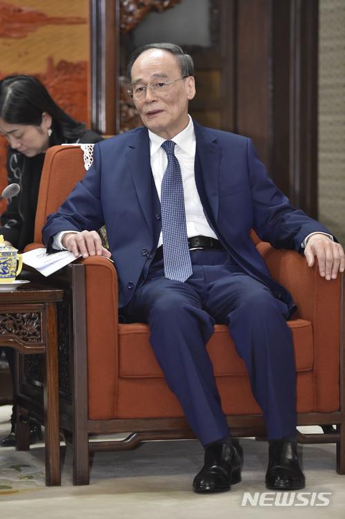 왕치산 누구? 판빙빙과 스캔들 휩싸인 中 시진핑 오른팔