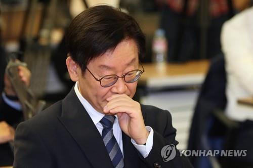 경찰, 이재명 경기도지사 성남 자택 압수수색(1보)