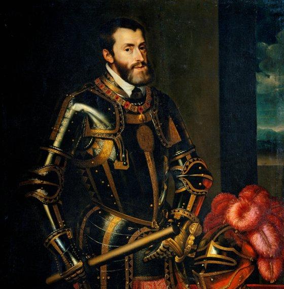 신성 로마 제국 황제 카를 5세. 바티칸에 침입했을 때 스위스 근위대가 거의 몰살을 당하면서도 끝까지 교황과 추기경을 보호하며 안전한 곳으로 대피시켰다. [사진 위키미디아 커먼 ⓒ퍼블릭 도메인]