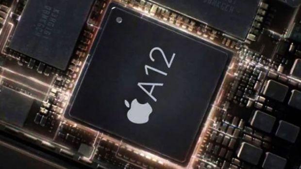 애플 A12 프로세서. (사진=CNET)