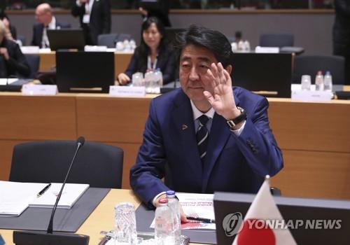 아베 일본 총리 [AP=연합뉴스 자료사진]