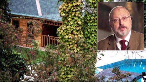 카슈끄지의 시신이 발견된 이스탄불의 사우디 총영사관저. 사진= 스카이뉴스