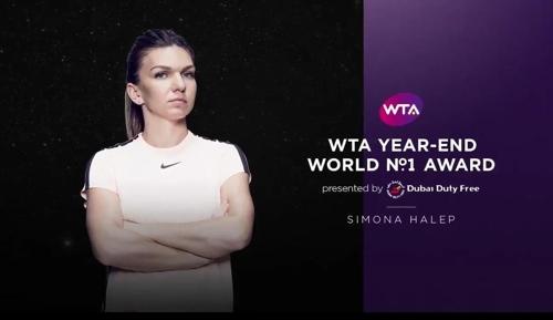 시모나 할레프 [WTA 투어 인터넷 홈페이지 사진 캡처]