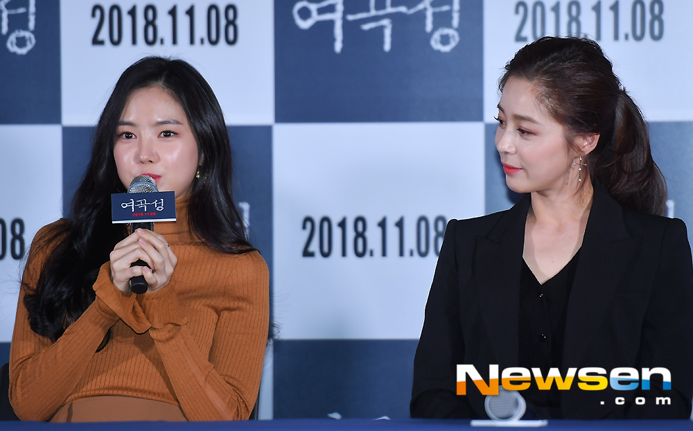 <p>The screening of the film Ye Koseong was held at the CGV Yongsan Ipark Mall in Seoul Yongsan District on the afternoon of November 1</p><p>Son Na-eun Seo Young-hee is interviewed on the day.</p><p>Actors Seo Young-hee, Son Na-eun, Italy, Park Min-ji, and Yoo Young-sun of Director attended the premiere.</p>