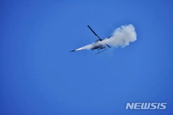 중국 정찰공격형 무인헬기가 지대공 미사일 시험 발사에 성공하면서 실전 배치가 임박했다(인터넷 캡처)
