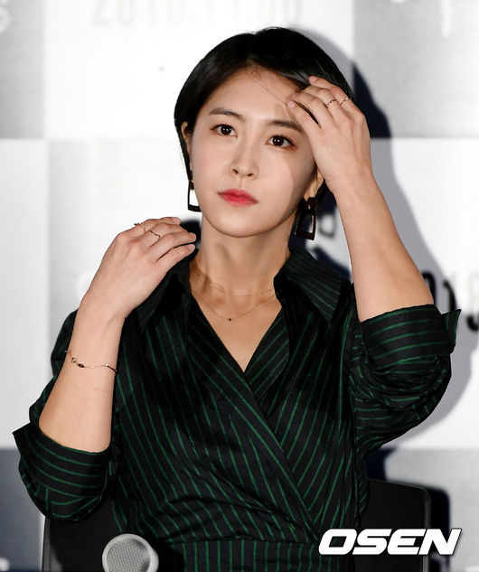 <p>The film Womans Wail media distribution preview was held at Yongsan District Leechon-dong CGV Yongsan Ipark Mall on Monday afternoon.</p><p>Actor Park Min-ji is attending and glowing.</p>