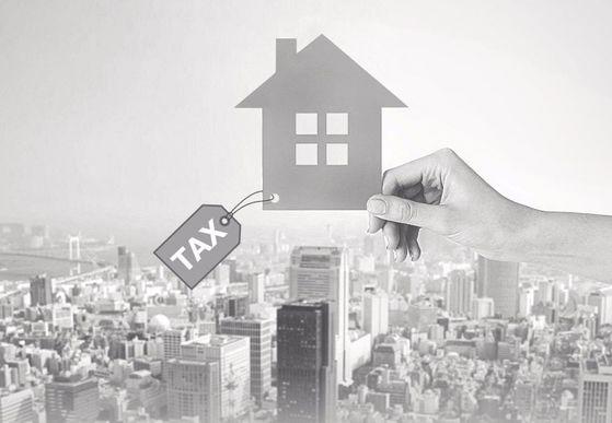 부동산 매도 세금 부담. [중앙포토]