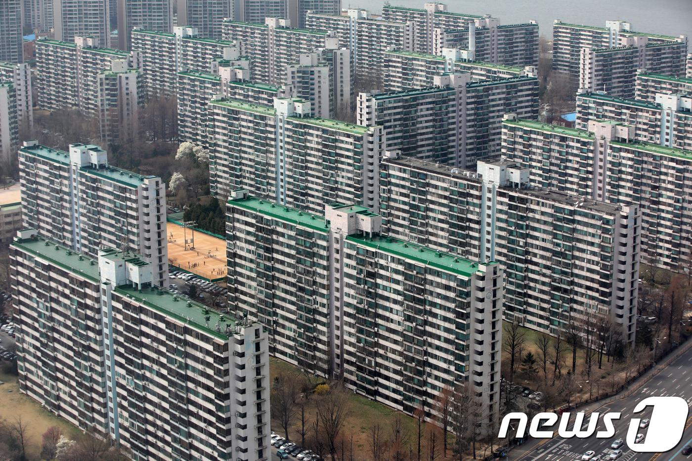 서울의 재건축 추진 단지© News1 구윤성 기자